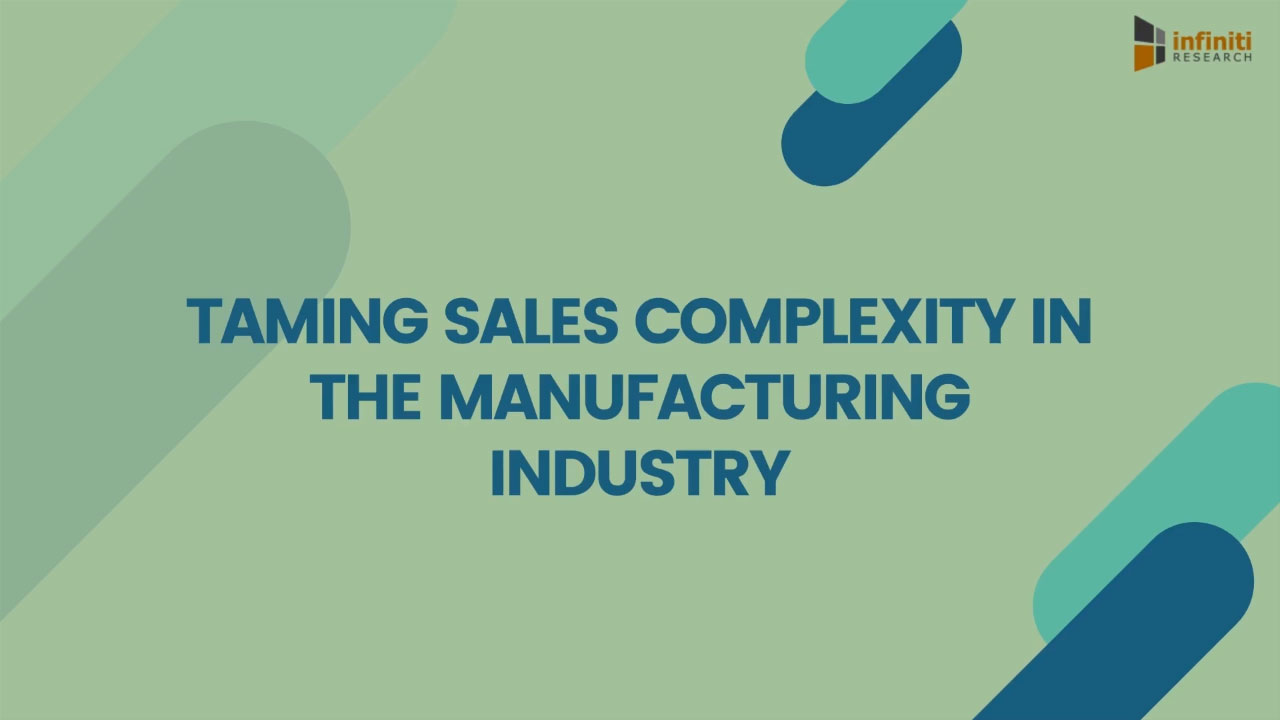 How Can Sales Managers in the Manufacturing Industry Tackle Business Challenges