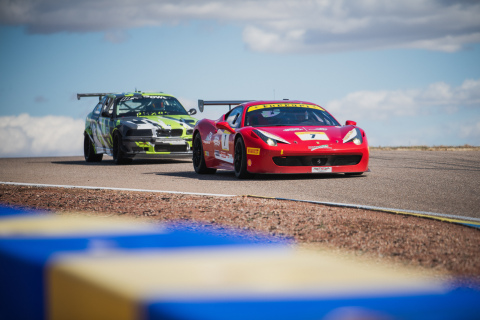 Members Racing at Inde Motorsports Ranch (Photo: Business Wire)