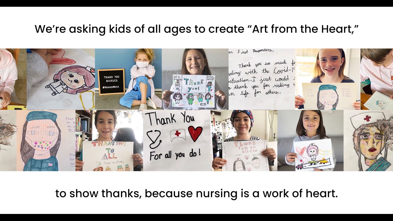 Cherokee Uniforms Launches Art From The Heart Campaign To Celebrate Nurses Week And Nurses Month Business Wire