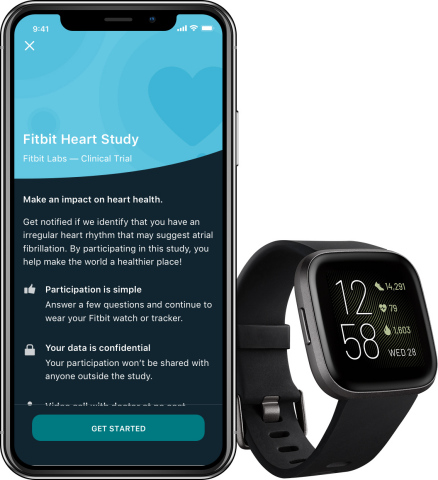 The Fitbit Heart Study is part of Fitbit's broader strategy to make health tools more accessible and reduce the risk of life-threatening events like stroke. (Graphic: Business Wire)