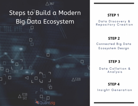 Steps to Build a Big Data Ecosystem (Graphic: Business Wire)