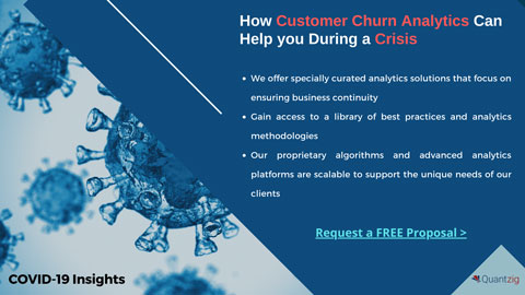 HowCustomer Churn Analytics Can Help you During a Crisis