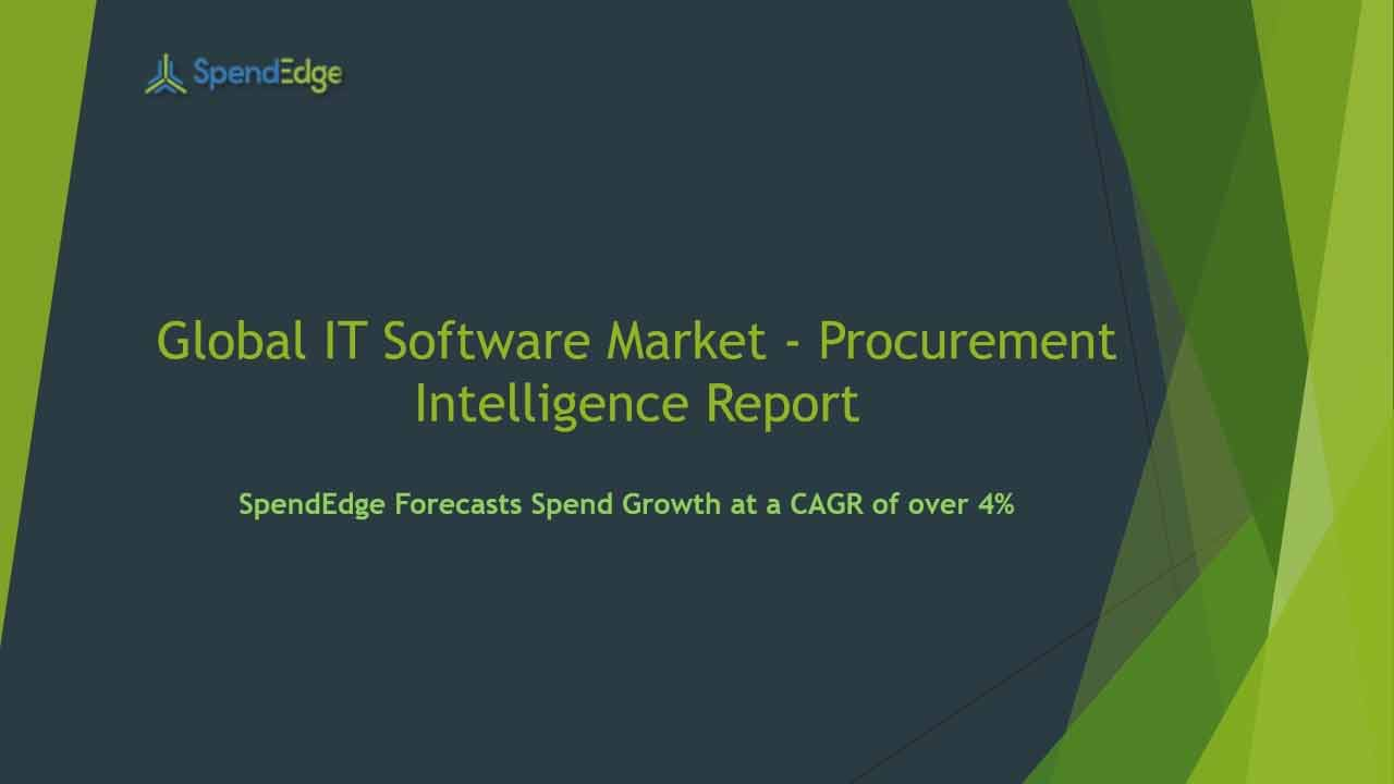 SpendEdge has announced the release of its Global Legal Services Market Procurement Intelligence Report