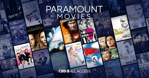 Caption: CBS All Access announced the addition of more than 100 films from Paramount Pictures to the service. Credit: CBS All Access