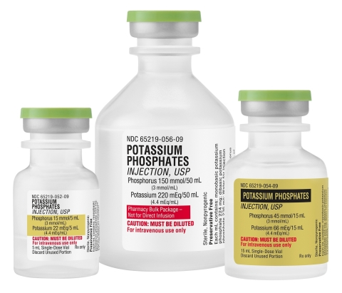 Fresenius Kabi now offers the widest array of Potassium Phosphates Injection dosage options among all NDA-approved suppliers (Photo: Business Wire)