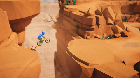 Make your way through thick forests, narrow trails and wild rivers in Lonely Mountains: Downhill. (Graphic: Business Wire)