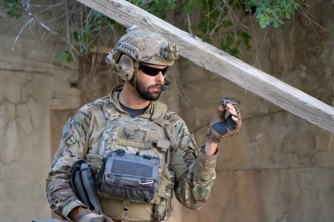 Extremely light, nearly silent, and with a flight time up to 25 minutes, the combat-proven, pocket-sized FLIR Black Hornet transmits live video and HD still images back to the operator. Its information feed provides soldiers with immediate covert situational awareness to help them perform missions more effectively. FLIR has delivered more than 12,000 Black Hornet nano-UAVs to defense and security forces worldwide. (Photo: Business Wire)