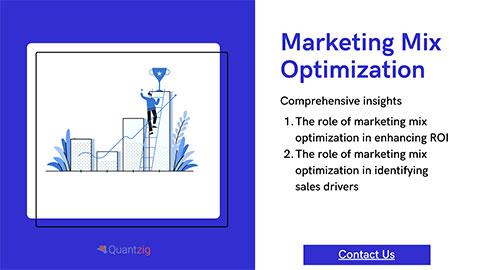 Marketing Mix Optimization Solutions