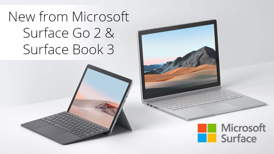 Microsoft Surface Family Updates Go 2, Surface Book 3 and More; More Info  at B&H | Business Wire