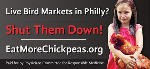 Philadelphia Live Bird Market Billboard (Photo: Business Wire)