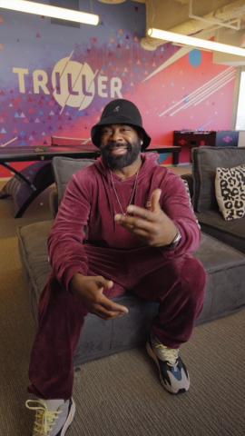 """Triller """"Big Boss Talks"""" Hosted by Hip Hop Influencer & Legend Breyon Prescott (Photo: Business Wire)"""