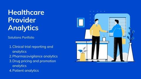 Healthcare provider analytics solution portfolio (Graphic: Business Wire)
