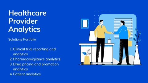 Healthcare Provider Analytics Solutions Portfolio (Graphic: Business Wire)