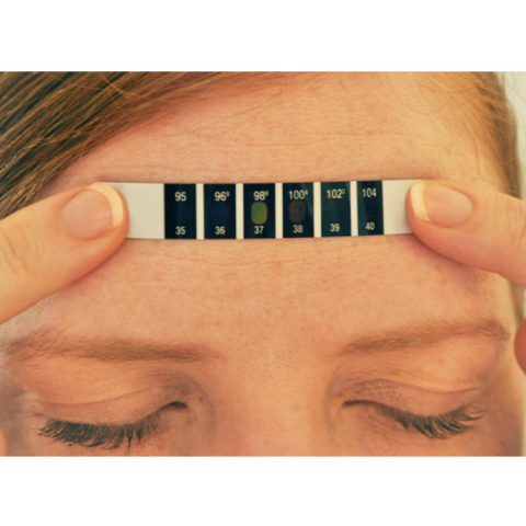 COVID-19 Forehead Thermometer (Photo: Business Wire)