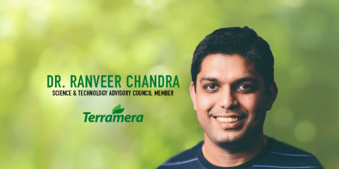 Dr. Ranveer Chandra has joined Terramera's Science & Technology Advisory Council. The Science & Technology Advisory Council advises Terramera on its commercial efforts and mission to reduce the global synthetic pesticide load by 80% by 2030. (Photo: Business Wire)
