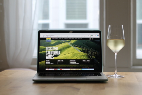 Virtual wine experiences have been so popular that California wineries plan to continue them to connect with consumers. Wine Institute photo.