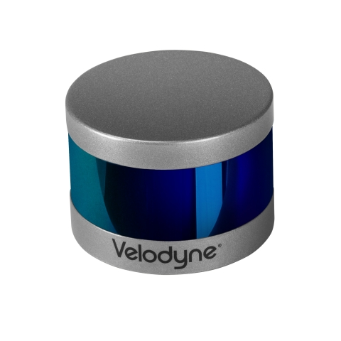Velodyne Puck LITE™ sensors deliver a high-resolution image to measure and analyze indoor and outdoor environments. (Photo: Velodyne Lidar, Inc.)