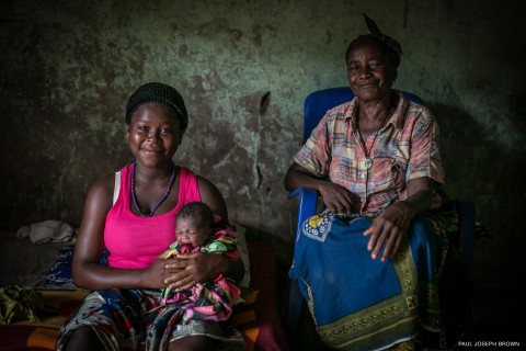 Nigeria: Anita suffered from postpartum haemorrhage after the birth of her first child, and needed a blood transfusion to save her life. (Photo: Business Wire)