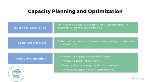 Capacity Planning and Optimization (Graphic: Business Wire)
