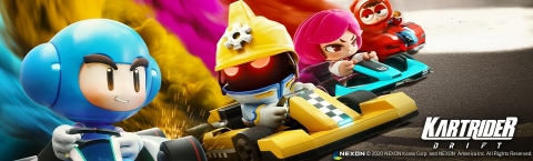 KartRider: Drift Closed Beta 2 Key Art (Graphic: Business Wire)