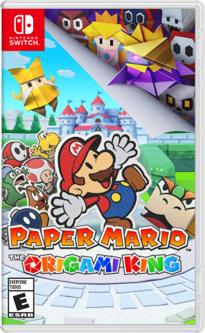 It seems as if King Olly, who claims to be the ruler of the Origami Kingdom, has hatched a devious plot that endangers everything Mario holds dear. It looks pretty dangerous on paper, so someone who's a cut above the rest is needed to save the day! (Photo: Business Wire)
