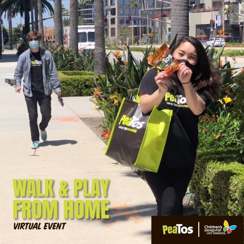 Join Team PeaTos as they participate in Walk and Play L.A.! (Photo: Business Wire)