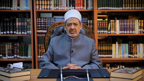 His Eminence Dr Ahmed El-Tayeb, Grand Imam of Al Azhar (Photo: AETOSWire)