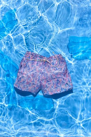 KAMPOS Red Coral men's swimsuit (Photo : KAMPOS)