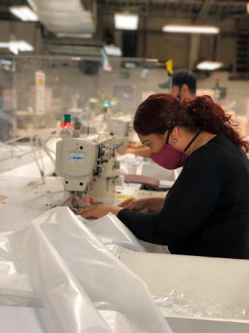 Dow collaborates with multiple partners to develop and donate Level 2 medical isolation gowns (Photo: Business Wire)