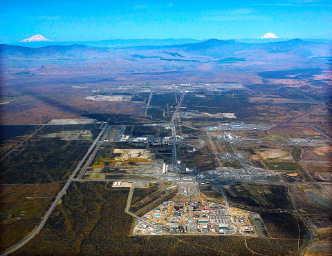 A Fluor & BWXT joint venture was selected for the Hanford Site Tank Closure Contract by the Dept. of Energy. Hanford is located in the state of Washington. (Photo: Business Wire)