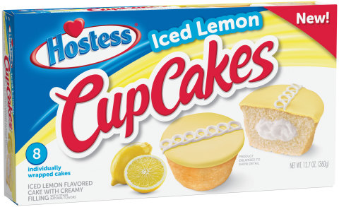 Hostess Iced Lemon CupCakes (Photo: Business Wire)