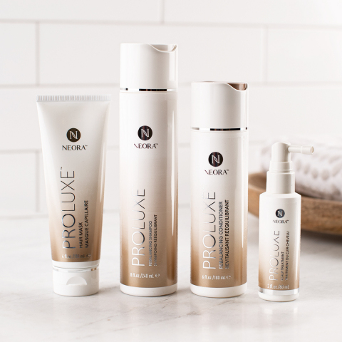 ProLuxe is an intuitive, professional-level system that works to identify and address every sign of damage and aging. (Photo: Business Wire)