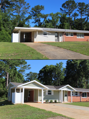 Corvias has begun delivery of more than 100 renovated homes in the Munson neighborhood at Fort Rucker as part of its $325 million capital investment to fund improvements to the company's entire Army housing portfolio. Renovations involved gutting the homes down to the studs and designing an all-new floor plan filled with contemporary design elements. (Photo: Business Wire)