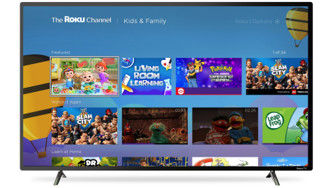 CoComelon on The Roku Channel (Photo: Business Wire)