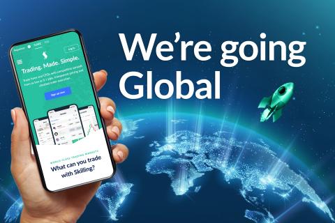 La plataforma de negociación en línea de Forex y CFD Skilling amplía su presencia global con la licencia de la FSA de Seychelles. (Graphic: Business Wire)