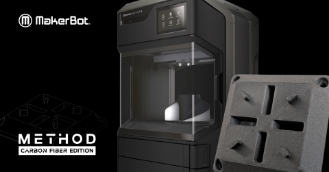 MakerBot METHOD Carbon Fiber Edition (Photo: Business Wire)