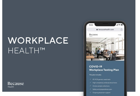 Because Health launches Workplace Health