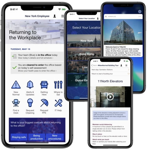 Modo WorkReady gives employers a no-code app for returning employees to work safely and confidently. (Graphic: Business Wire)