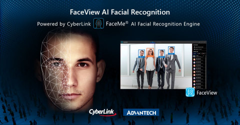 CyberLink Partners with Advantech to Enable FaceMe® Facial Recognition for Retail, Hospitality and Security AIoT Applications (Photo: Business Wire)