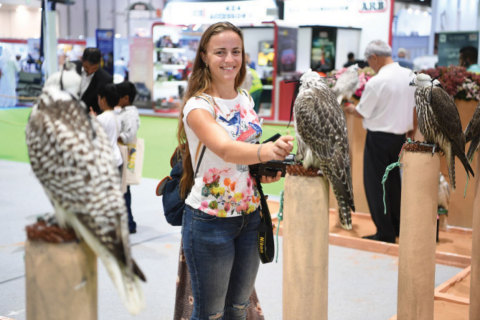 Impressive turnout at Abu Dhabi International Hunting and Equestrian Exhibition (ADIHEX) 2019 (Photo: AETOSWire)