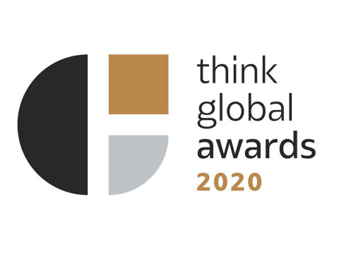 Global healthy-aging haircare and skincare innovator, MONAT Global Corp (MONAT), received the Brand of the Year award at the 2020 Think Global Awards. (Graphic: Business Wire)