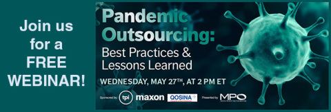 Qosina to co-sponsor webinar on keeping up with demand during the pandemic. (Graphic: Business Wire)