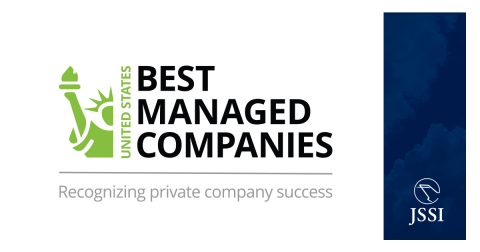 JSSI selected as a 2020 US Best Managed Company (Graphic: Business Wire)