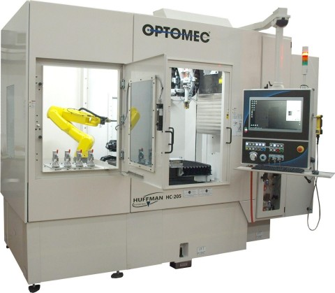 Optomec's Huffman HC 205 machine (Photo: Business Wire)