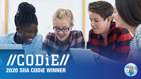 n2y, a cloud-based, special education technology company, celebrates their 2020 SIIA CODiE Award wins in the Best Solution for Exceptional Students and Best Data Solution categories. (Photo: Business Wire)