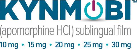 KYNMOBI™ (apomorphine HCI) product logo (Photo: Business Wire)