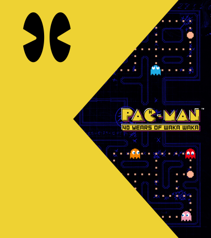 PAC-MAN 40th Anniversary Book - Work in Progress Cover Design Subject to Change (Graphic: Business Wire)