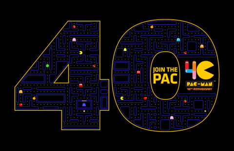 PAC-MAN 40th Anniversary Key Art (Graphic: Business Wire)