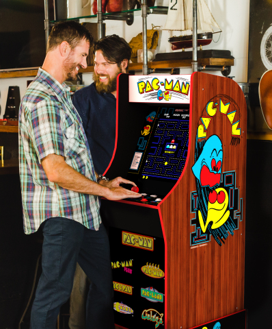 PAC-MAN 40th Anniversary Arcade 1UP (Photo: Business Wire)