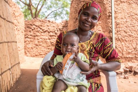 尼日尔塔瓦Allakaye,Angoual Denia,2019年7月23日(照片:WFP/Simon Pierre Diouf)